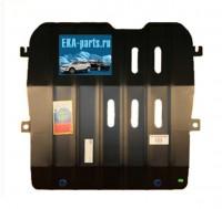 Защита картера и кпп Cadillac SRX 2010 - (Материал: Сталь, Толщина: 3мм, Кузов: все, Двигатель: все, Коробка: все, Вес: 12,1 кг)  с  ребрами жесткости с шагом 100 мм по всей площади. - Интернет магазин запчастей Volvo и Land Rover,  продажа запасных частей DISCOVERY, DEFENDER, RANGE ROVER, RANGE ROVER SPORT, FREELANDER, VOLVO XC90, VOLVO S60, VOLVO XC70, Volvo S40 в Екатеринбурге.