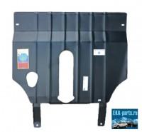Защита картера двигателя и кпп Chery Bonus A 13  2011 - (Материал: Сталь, Толщина: 2мм, Кузов: все, Двигатель: все, Коробка: все, Вес: 8,8 кг, (A13) седан, Very - хетчбек) с  ребрами жесткости с шагом 100 мм по всей площади. - Интернет магазин запчастей Volvo и Land Rover,  продажа запасных частей DISCOVERY, DEFENDER, RANGE ROVER, RANGE ROVER SPORT, FREELANDER, VOLVO XC90, VOLVO S60, VOLVO XC70, Volvo S40 в Екатеринбурге.