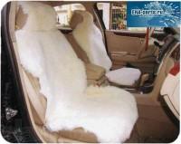 Комплект из двух накидок (шкуры без подклада) на сиденья авто белого цвета из стриженной овчины (срок поставки под заказ от 1 до 3 дней) - Интернет магазин запчастей Volvo и Land Rover,  продажа запасных частей DISCOVERY, DEFENDER, RANGE ROVER, RANGE ROVER SPORT, FREELANDER, VOLVO XC90, VOLVO S60, VOLVO XC70, Volvo S40 в Екатеринбурге.