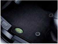 Оригинальные ковры текстильные чёрные с логотипом LR 2 отверстия до 2008 м.г. - Интернет магазин запчастей Volvo и Land Rover,  продажа запасных частей DISCOVERY, DEFENDER, RANGE ROVER, RANGE ROVER SPORT, FREELANDER, VOLVO XC90, VOLVO S60, VOLVO XC70, Volvo S40 в Екатеринбурге.