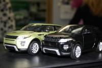 Моделька Range Rover Evoque черный 1*24 - Интернет магазин запчастей Volvo и Land Rover,  продажа запасных частей DISCOVERY, DEFENDER, RANGE ROVER, RANGE ROVER SPORT, FREELANDER, VOLVO XC90, VOLVO S60, VOLVO XC70, Volvo S40 в Екатеринбурге.