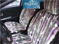 """Комплект накидок универсальных на передние сиденья авто из искусственного меха (2 шт + 2 подголовника) """"Гламур"""" - Интернет магазин запчастей Volvo и Land Rover,  продажа запасных частей DISCOVERY, DEFENDER, RANGE ROVER, RANGE ROVER SPORT, FREELANDER, VOLVO XC90, VOLVO S60, VOLVO XC70, Volvo S40 в Екатеринбурге."""