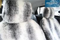 """Комплект накидок универсальных на передние сиденья авто из искусственного меха (2 шт + 2 подголовника) """"Кролик"""" (пошив 1-3 дня) - Интернет магазин запчастей Volvo и Land Rover,  продажа запасных частей DISCOVERY, DEFENDER, RANGE ROVER, RANGE ROVER SPORT, FREELANDER, VOLVO XC90, VOLVO S60, VOLVO XC70, Volvo S40 в Екатеринбурге."""