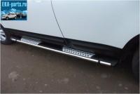Пороги алюминиевые (Emerald) Land Rover Freelander 2 (2008-)  - Интернет магазин запчастей Volvo и Land Rover,  продажа запасных частей DISCOVERY, DEFENDER, RANGE ROVER, RANGE ROVER SPORT, FREELANDER, VOLVO XC90, VOLVO S60, VOLVO XC70, Volvo S40 в Екатеринбурге.
