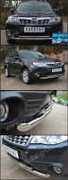 Защита переднего бампера d63/42 (дуга) для Subaru Forester 2008- - Интернет магазин запчастей Volvo и Land Rover,  продажа запасных частей DISCOVERY, DEFENDER, RANGE ROVER, RANGE ROVER SPORT, FREELANDER, VOLVO XC90, VOLVO S60, VOLVO XC70, Volvo S40 в Екатеринбурге.