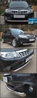 Защита переднего бампера d76 (дуга) для Subaru Forester 2008- - Интернет магазин запчастей Volvo и Land Rover,  продажа запасных частей DISCOVERY, DEFENDER, RANGE ROVER, RANGE ROVER SPORT, FREELANDER, VOLVO XC90, VOLVO S60, VOLVO XC70, Volvo S40 в Екатеринбурге.
