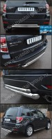 Защита заднего бампера d63/42 (дуга) для Subaru Forester 2008- - Интернет магазин запчастей Volvo и Land Rover,  продажа запасных частей DISCOVERY, DEFENDER, RANGE ROVER, RANGE ROVER SPORT, FREELANDER, VOLVO XC90, VOLVO S60, VOLVO XC70, Volvo S40 в Екатеринбурге.