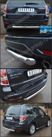 Защита заднего бампера d76 (дуга) для Subaru Forester 2008- - Интернет магазин запчастей Volvo и Land Rover,  продажа запасных частей DISCOVERY, DEFENDER, RANGE ROVER, RANGE ROVER SPORT, FREELANDER, VOLVO XC90, VOLVO S60, VOLVO XC70, Volvo S40 в Екатеринбурге.