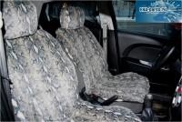 """Комплект накидок универсальных на передние сиденья авто из искусственного меха (2 шт + 2 подголовника) """"Серая кошка """" - Интернет магазин запчастей Volvo и Land Rover,  продажа запасных частей DISCOVERY, DEFENDER, RANGE ROVER, RANGE ROVER SPORT, FREELANDER, VOLVO XC90, VOLVO S60, VOLVO XC70, Volvo S40 в Екатеринбурге."""