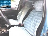 """Комплект накидок универсальных на передние сиденья авто из искусственного меха (2 шт + 2 подголовника) """"Серая норка"""" - Интернет магазин запчастей Volvo и Land Rover,  продажа запасных частей DISCOVERY, DEFENDER, RANGE ROVER, RANGE ROVER SPORT, FREELANDER, VOLVO XC90, VOLVO S60, VOLVO XC70, Volvo S40 в Екатеринбурге."""