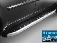 Пороги алюминиевые (Alyans) Toyota Alphard (2012-) - Интернет магазин запчастей Volvo и Land Rover,  продажа запасных частей DISCOVERY, DEFENDER, RANGE ROVER, RANGE ROVER SPORT, FREELANDER, VOLVO XC90, VOLVO S60, VOLVO XC70, Volvo S40 в Екатеринбурге.