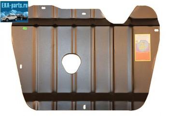 Защита картера и кпп Volvo XC90 2002- 2,4 TDI, XC90 2002 -  2,5i   штампованная сталь 2мм, с  ребрами жесткости с шагом 100 мм по всей площади. - Интернет магазин запчастей Volvo и Land Rover,  продажа запасных частей DISCOVERY, DEFENDER, RANGE ROVER, RANGE ROVER SPORT, FREELANDER, VOLVO XC90, VOLVO S60, VOLVO XC70, Volvo S40 в Екатеринбурге.